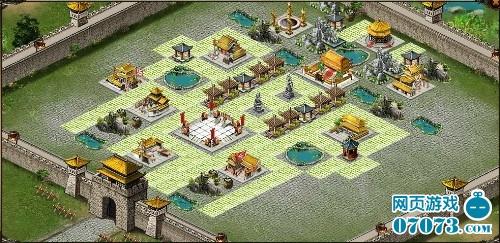 虎牢关城池平面图