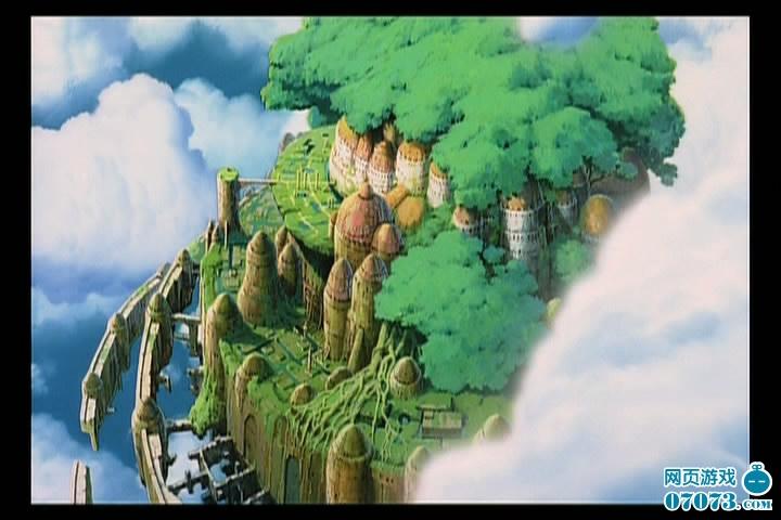 【07073青岚原创,转载请注明出处及作者】 《天空之城》是日本动画大神宫崎骏的神作之一。漂浮在云层深处的大陆上,有这郁郁葱葱的森林、自由自在的小鸟、与高大却一言不发的机器人守卫。高架铁轨上的旧式火车、黑漆漆的矿洞、飞空艇、飞行石,这里充满了欧洲工业革命时期的味道。