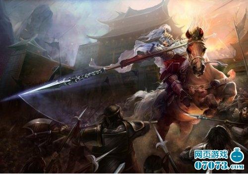 叱诧九州》挑战常山赵子龙-首款穿越历史的页游 叱诧九州 横空出世