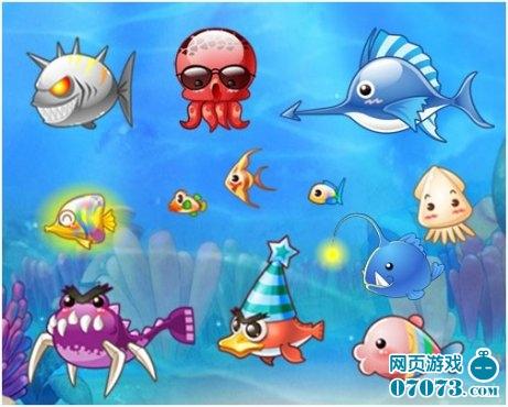 除了简单的捕鱼,在游戏中你还可以捕获任何你能想象得到的可爱动物
